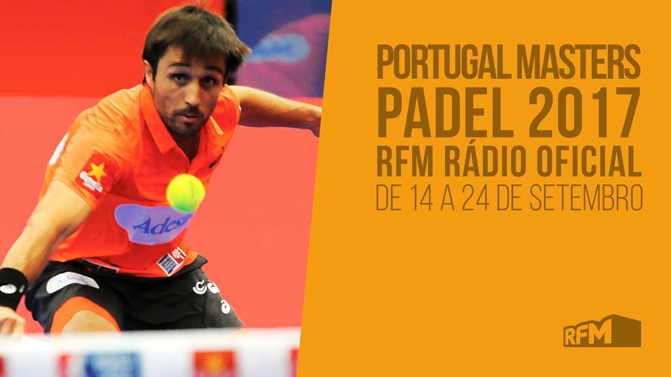RFM com Portugal Padel Masters de 16 a 24 de Setembro