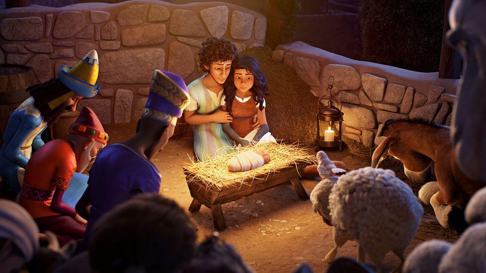A história do Natal contada......