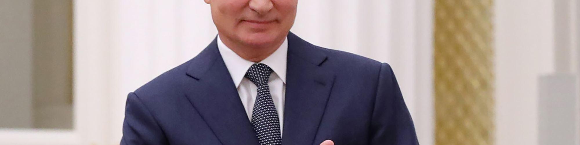 Vladimir Putin é nomeado para o Prémio Nobel da Paz de 2021