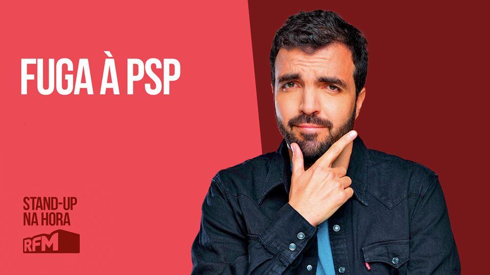 Salvador Martinha: Fuga à PSP