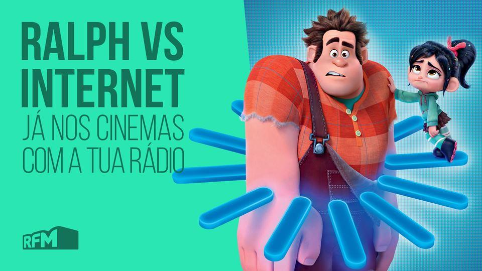 Ralph vs Internet já estreou