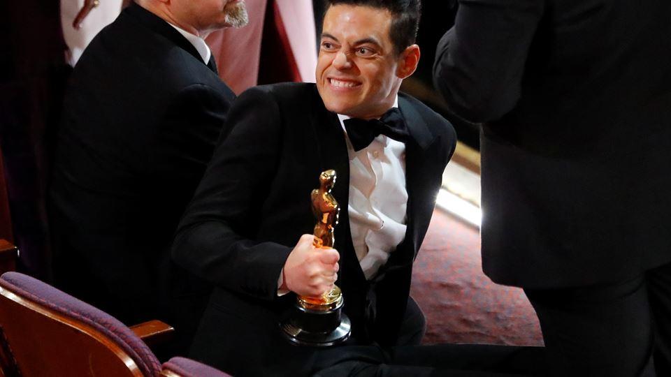 Rami Malek ganhou o óscar para melhor ator