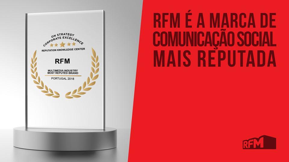 RFM é a marca de media com mai...