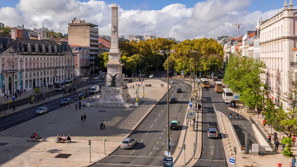 Os carros em Lisboa só vão pod...