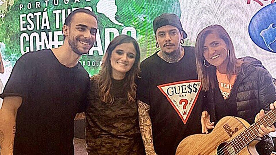 RFM registou a estreia de Respirar - Diogo, Carolina e Agir com Teresa Lage