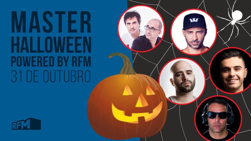 Master Halloween 31 de outubro