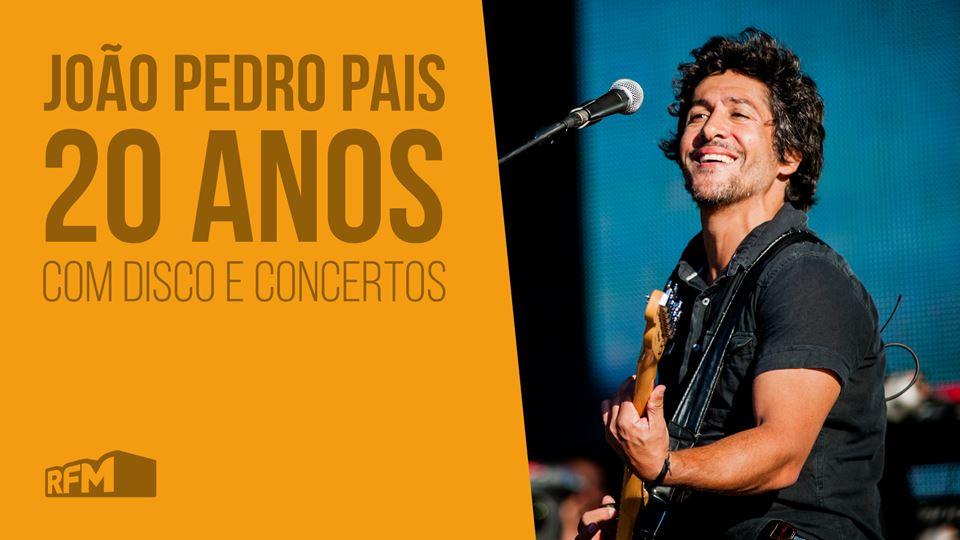 João Pedro Pais, 20 anos de grandes músicas