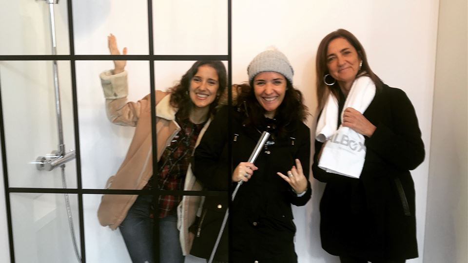RFM na Italbox - Bárbara Afonso, Inês Bento e Teresa Lage  - Rock in Office com Calema
