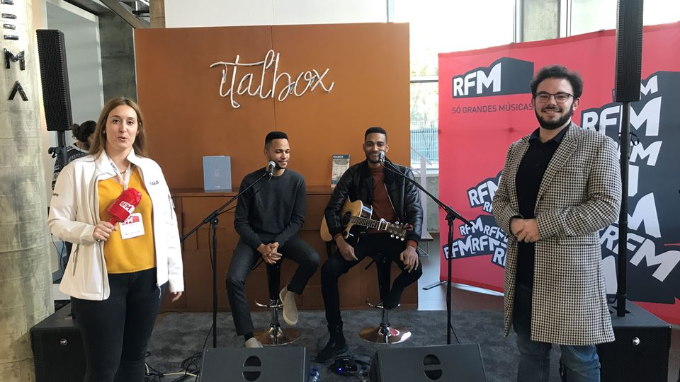 RFM Rock in Office Italbox Calema Vencedores Italbox