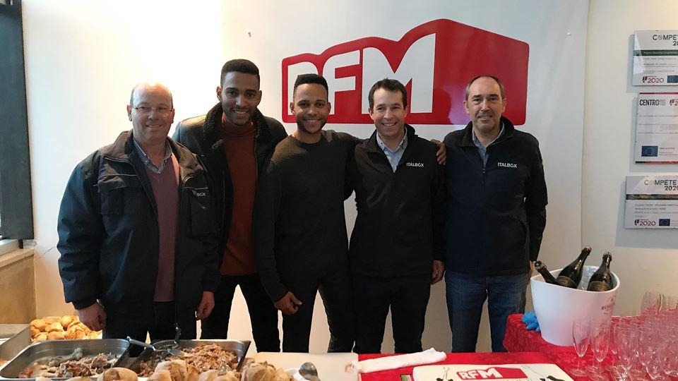 RFM Rock in Office Calema com Armando Conceição,Miguel São Bento, Carlos Duarte da italbox