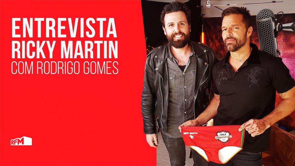Ricky Martin promete usar sung...