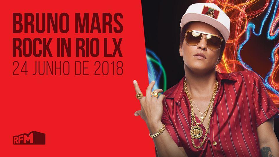 Bruno Mars no Rock in Rio Lisboa