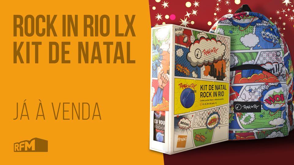 Rock in Rio Pack Natal já à venda