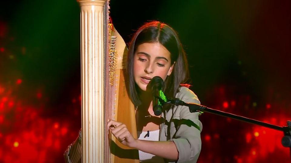 Rita Rocha, a menina da harpa ...