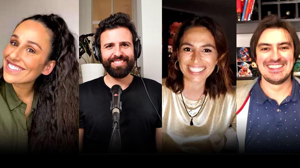 Rita Pereira em live no WI-FI ...