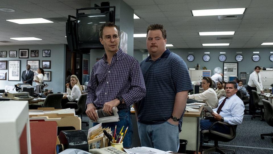 Sam Rockwell ( o advogado Watson Bryant) e Paul Walter Hauser ( Richard Jewell)