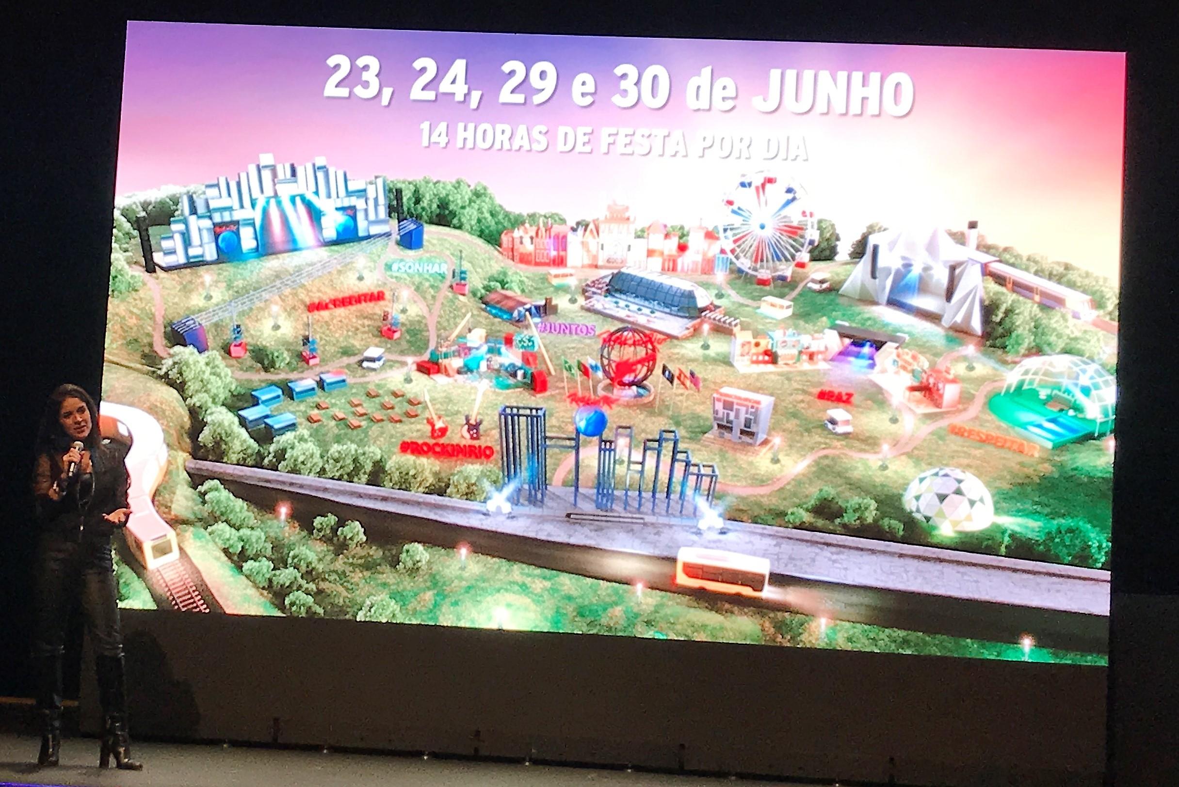 rock in rio mapa Conhece aqui o novo espaço do Rock in Rio Lisboa 2018   RFM rock in rio mapa