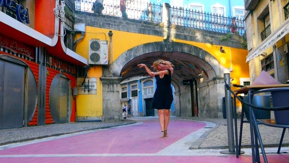 Rua Cor-de-Rosa - uma das mais...