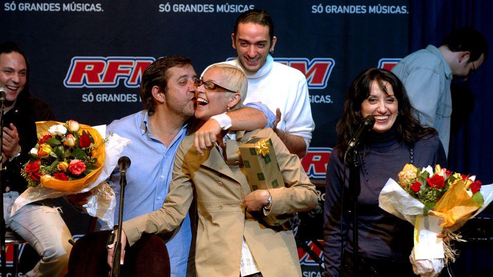 Rui Veloso e Mariza Auditório RFM Novembro 2006 Foto José Frade