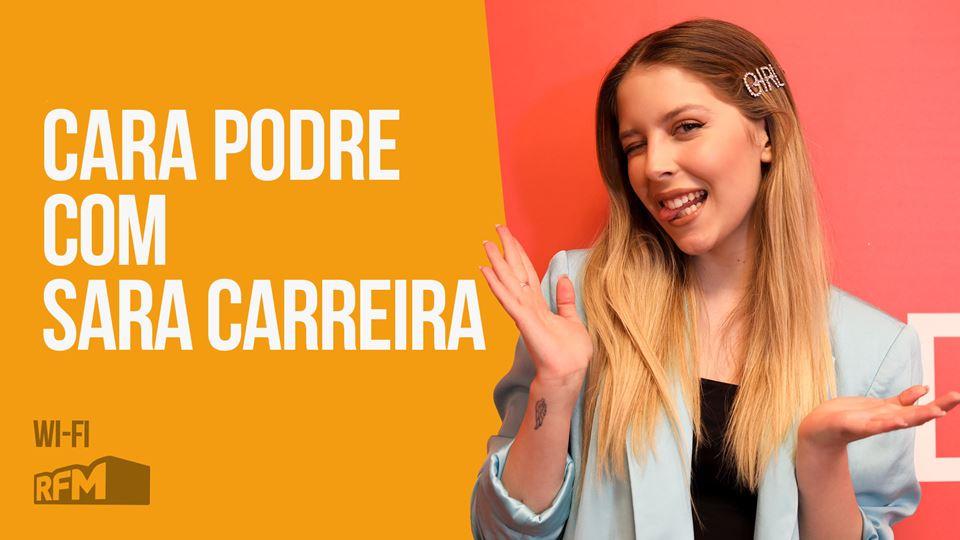 Sara Carreira com Cara Podre n...