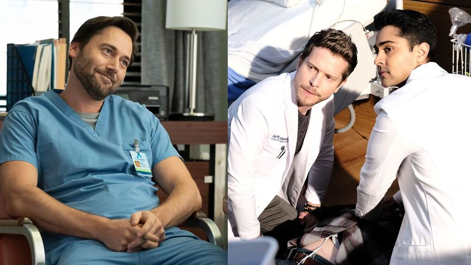 Séries _New Amsterdam_ + _The Resident_