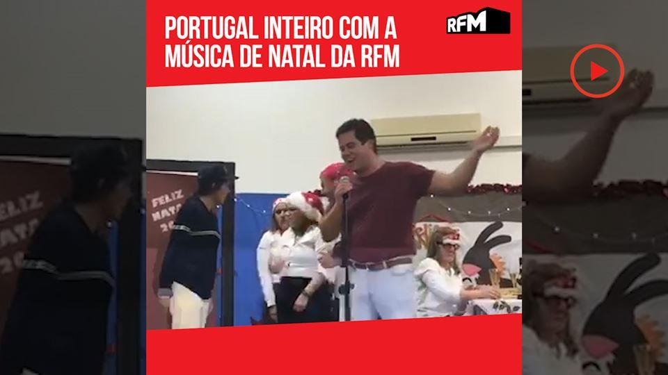 Portugal inteiro com a música ...