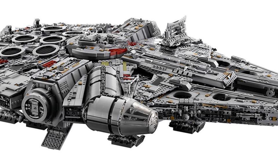 Novo Star Wars Millennium Falc...