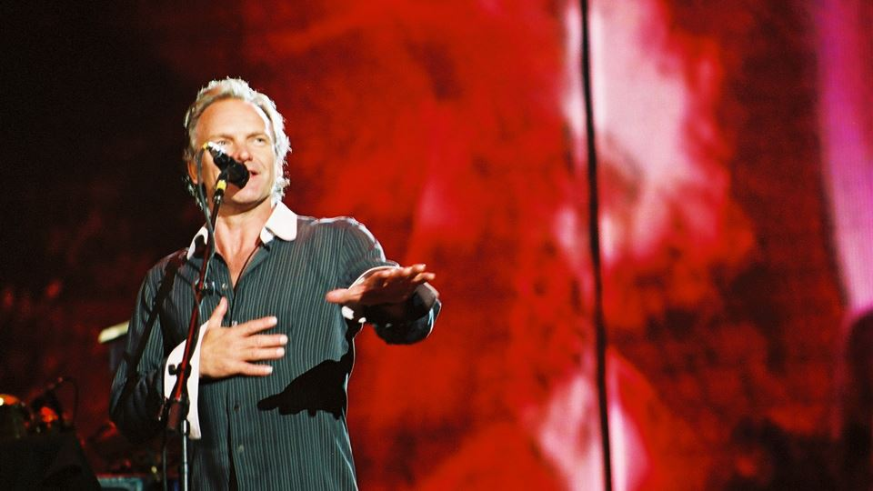 Sting ao vivo no Rock in Rio Lisboa 2004