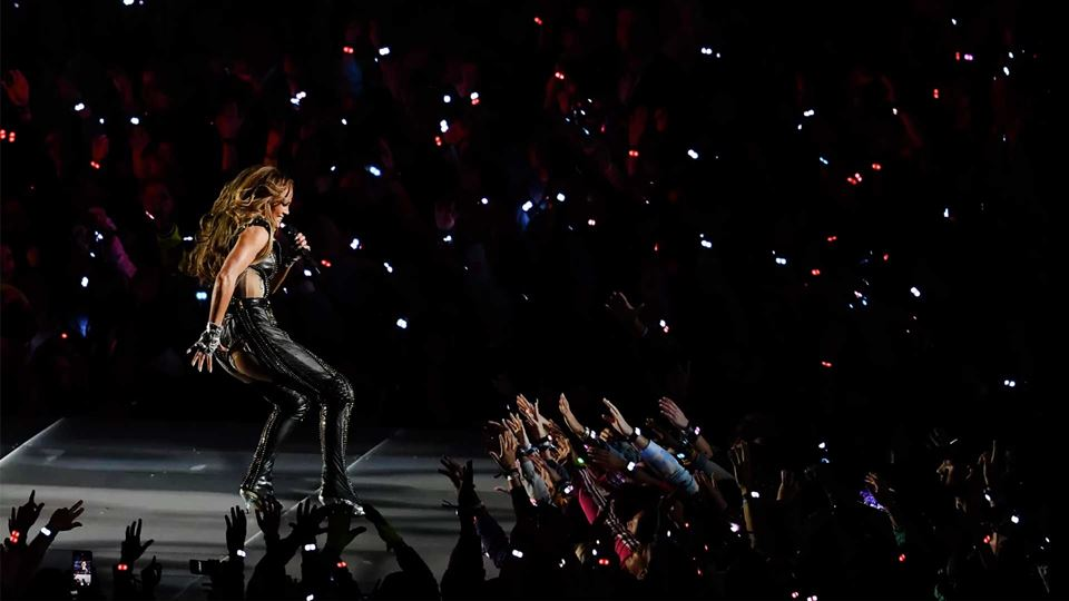 Super Bowl Jennifer Lopez