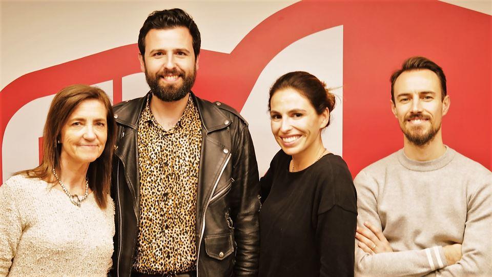 Teresa Lage, Rodrigo Gomes, Joana Cruz e Paulo Pereira