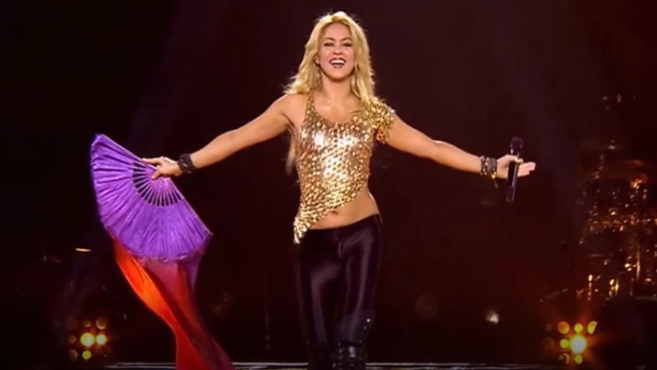 Vê aqui como Shakira se prepar...