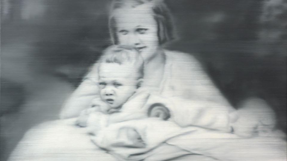 Tia Marianne 1965 -o quadro original de  Gerhard Richter com a sua tia