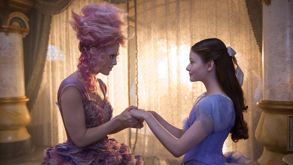 Cena do filme Quebra Nozes e os 4 Reinos