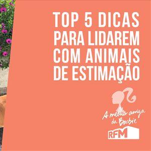 A melhor amiga da Barbie - top de dicas para lidarem com os animais de estimação