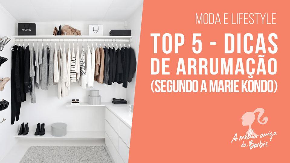 Barbie - top 5 dicas de arrumação