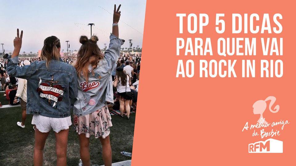Barbie - dicas para o Rock in Rio