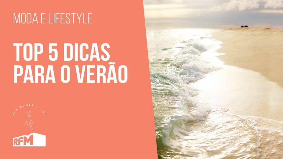 Ana Gomes Living - top 5 dicas...