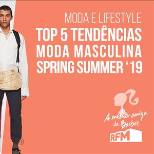 Barbie - top 5 tendencias moda masculina