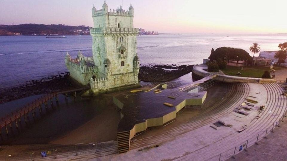 Celebração 15 anos do Rock in Rio Lisboa na Torre de Belém