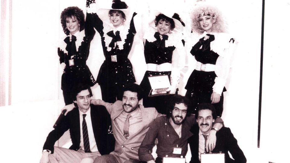 Tozé Brito e Doce em 1982 no Festival da Canção