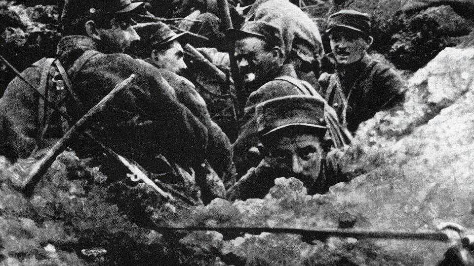 Grande Guerra - os portugueses...