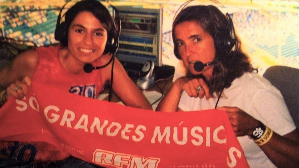 RFM em direto de Alvalade em 2005 no concerto dos U2 - Joana Cruz e Teresa Lage