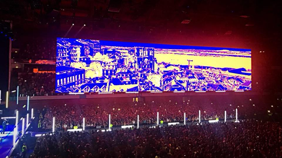 Lisboa no ecrã dos U2