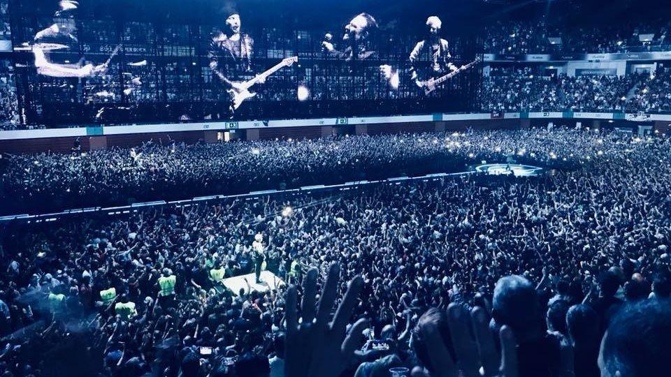 U2 ao vivo em Lisboa
