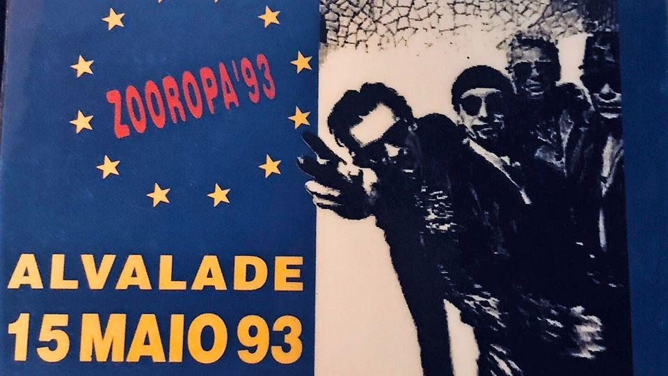 U2 Lisboa Maio 1993