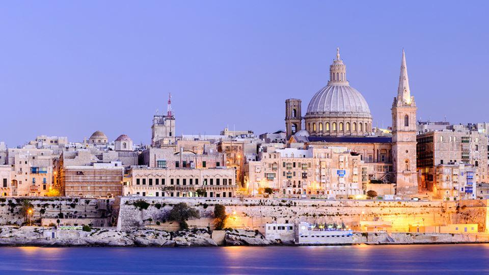 Imagem de Valletta, em Malta