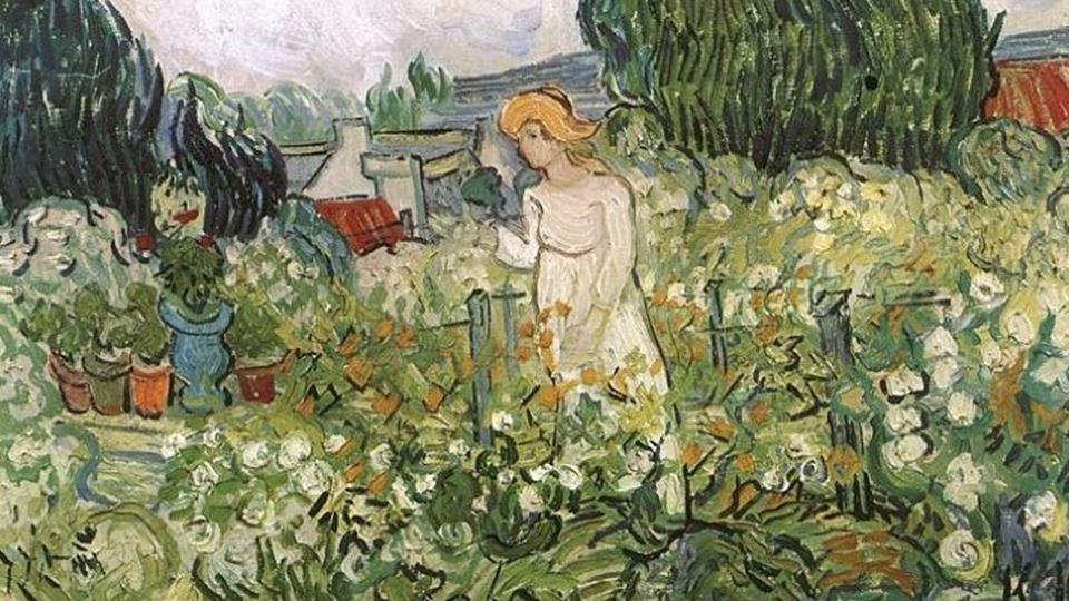 Marguerite Gachet no jardim Auvers-sur-Oise: June, 1890 :Musée d