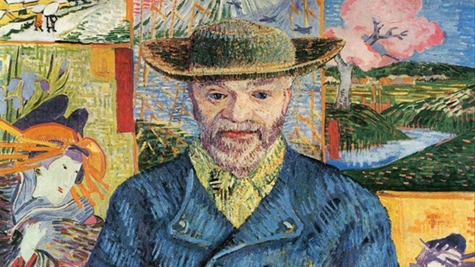 Retrato de Père Tanguy 1888, Musée Rodin