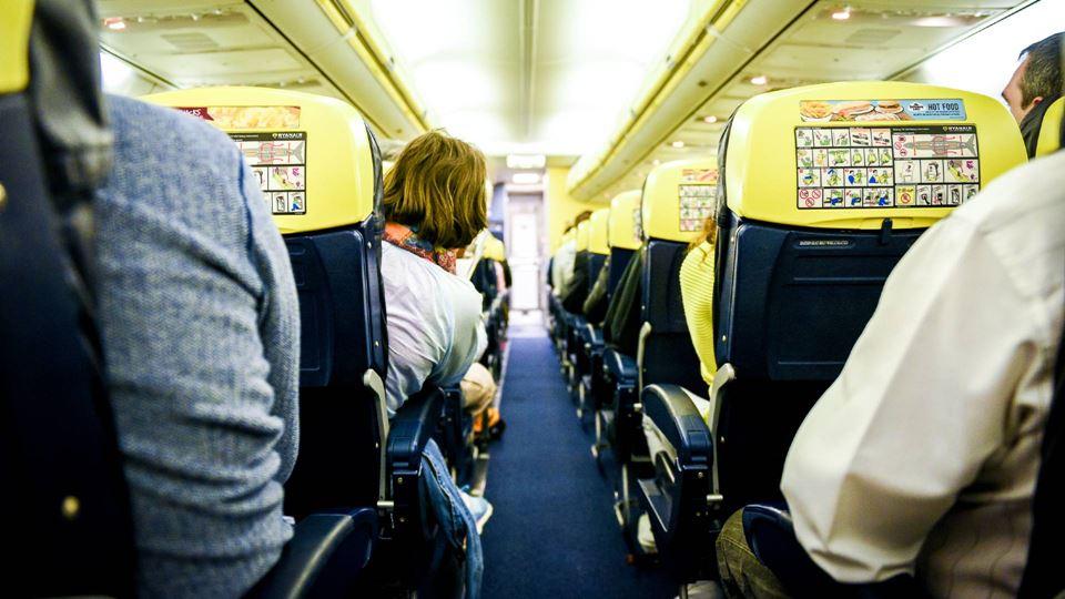 A publicidade da Ryanair que g...