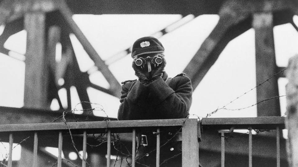 Vigia do muro de Berlim